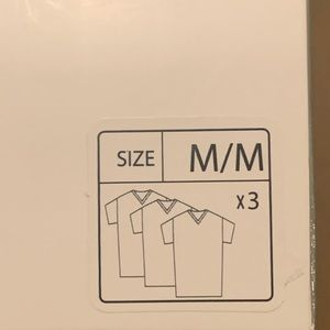Lacoste Essentials 100% Cotton 3pack V-Neck TShirt